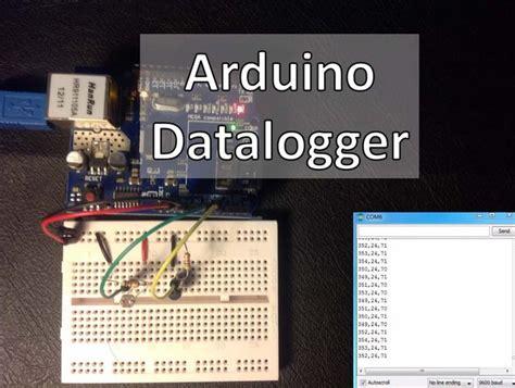 photoresistor data arduino datalogger with temperature sensor and photoresistor