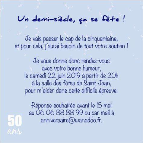 Exemple De Lettre D Invitation Humoristique Les 25 Meilleures Id 233 Es De La Cat 233 Gorie Anniversaire 50 Ans Sur 50 Ans Anniversaire