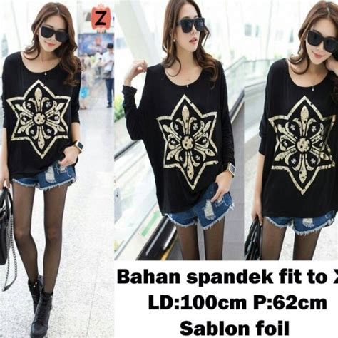 Dress Atasan Blouse Baju Batik Wanita Murah Bruneta Hlbt Dress atasan kaos kaos wanita kaos fashion 2013 murah new