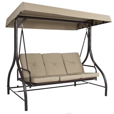 3 person porch swing with canopy patio swing canopy lovely outsunny 3 person canopy porch