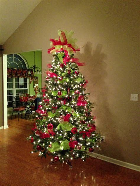deco mesh christmas tree topper christmas pinterest trees christmas trees  deco mesh