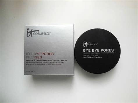 Bye Bye Pores Pressed review it cosmetics bye bye pores pressed powder
