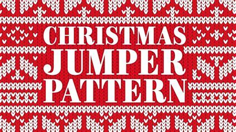 illustrator knitting tutorial christmas jumper pattern adobe illustrator tutorial youtube