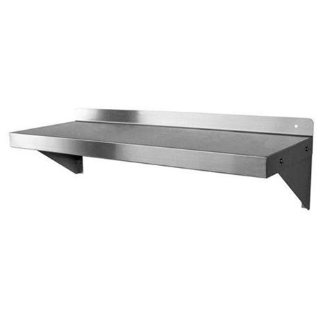 36 Wall Shelf by California Cooking Wall Mount Shelf Stainless Steel 12