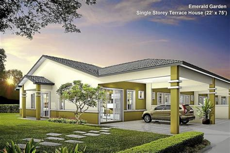 house building online lbs bina group to build 2 300 units of single storey