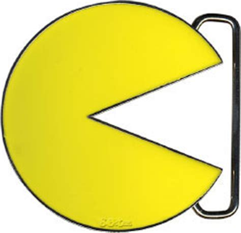Pacman Belt Buckle And Tie From The Ex Boyfriend Collection by Pac Character Belt Buckle