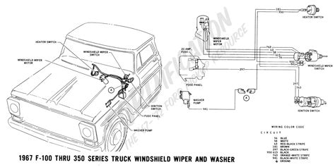 1968 ford f100 wiper switch wiring diagram get free
