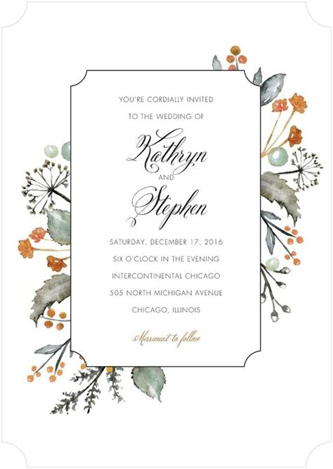 Wedding Announcement In Paper by Wedding Invitations Bridal Shower Invitations