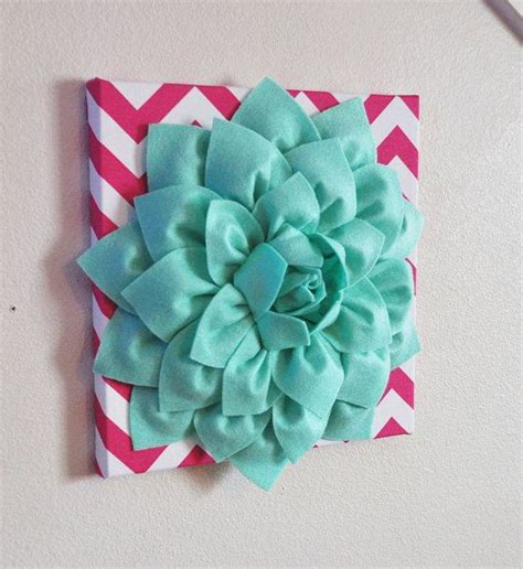 awesome of aqua flower on flower wall decor large mint green flower wall hanging