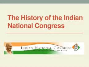 The History Of The History Of The Indian National Congress
