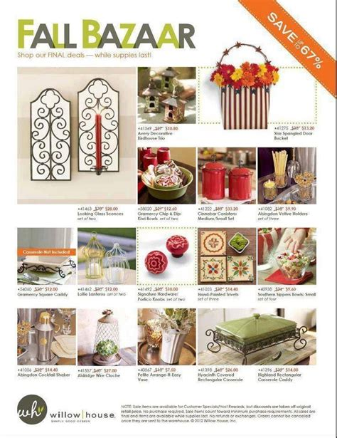 willow house home decor have you heard willow house is closing their home decor