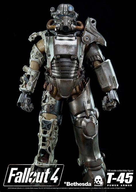 figure fallout 4 400 fallout 4 power armor figure stands 14 inches