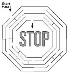 stop sign coloring page a stop sign coloring pages