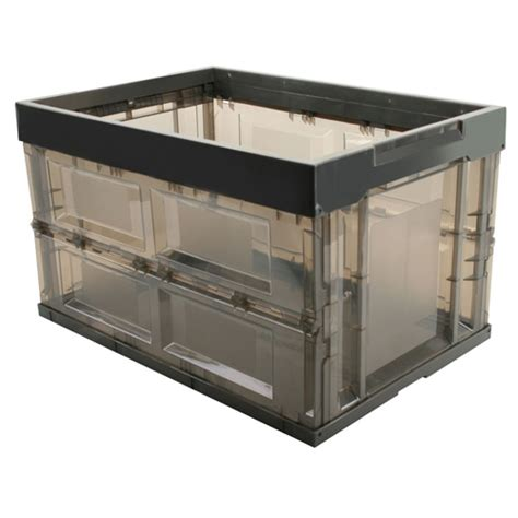 iris storage containers iris large collapsible storage container in plastic