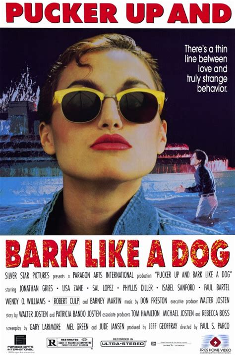 bark like a pucker up and bark like a posters from poster shop