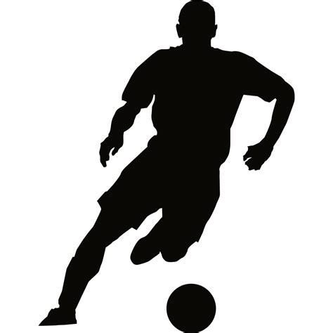 free jpg clipart free soccer player silhouette free clip