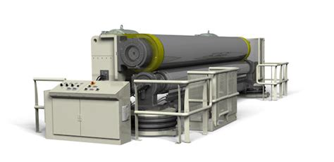board and paper machines calendering