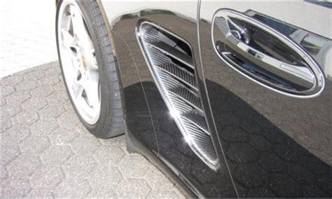 Porsche Aufkleber Seitlich by Porsche Boxster 987 Carbon Lufteinlass Gitter Neu Ebay