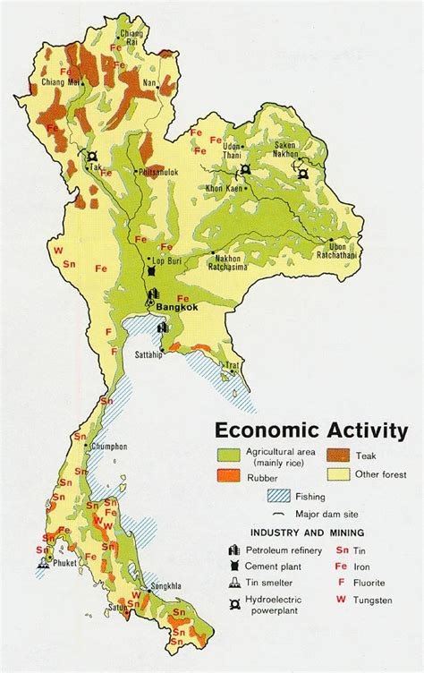 middle east map activity nationmaster maps of thailand 13 in total
