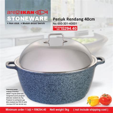 periuk rendang stoneware cm