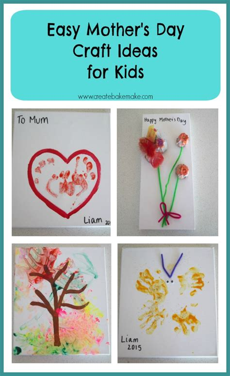 easy mothers day crafts s day craft for toddlers
