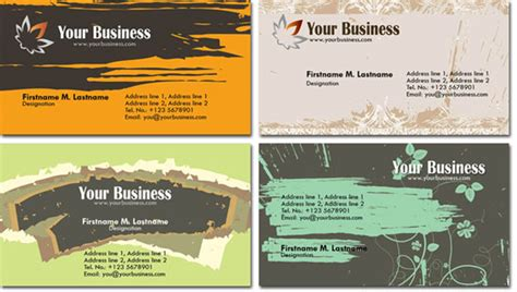 Free Photoshop Templates For Photo Cards by Photoshop Business Cards Templates