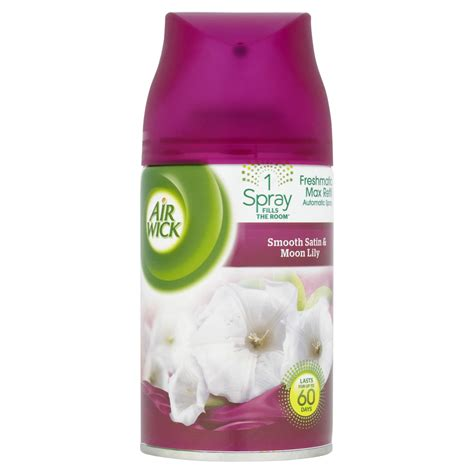 air wick refills air wick freshmatic max refill touch of luxury smooth satin and moon at wilko