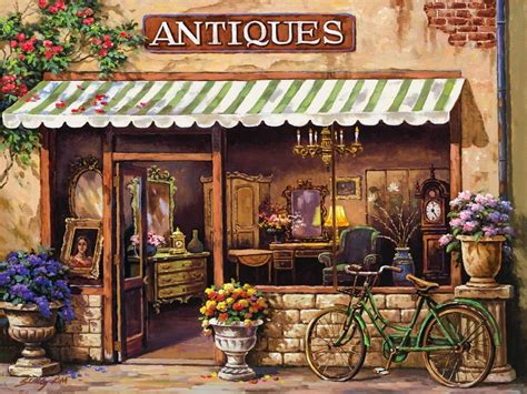 Whole Wall Murals antique shop mural sung kim murals your way