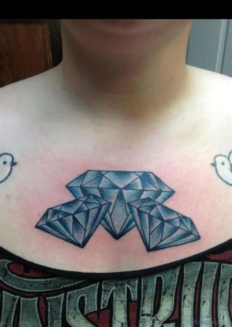 diamond chest tattoo 74 marvelous tattoos on chest