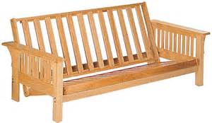 deluxe rubber wood futon frame by coaster furniture