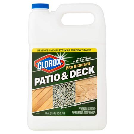 clorox pro results patio deck cleaner  fl oz