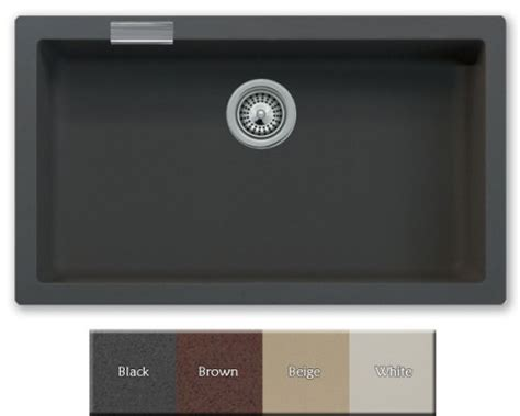 best buy sale black granite quartz composite undermount