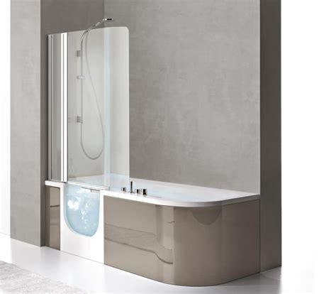 vasca bagno con sportello vasca con sportello e doccia for all box 180x78 cm