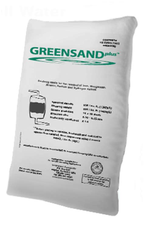 Cartridge Manganese Greensand Plus what is the difference between filox mangox pyrolox and greensand iron filter media