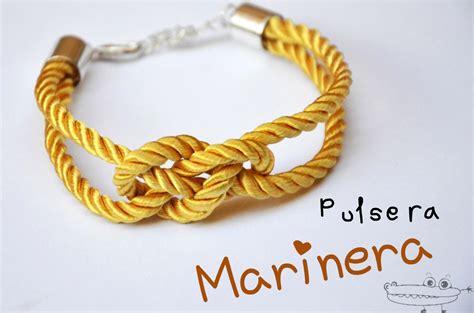 pulseras nudos marineros pulsera con nudo marinero manualidades infantiles