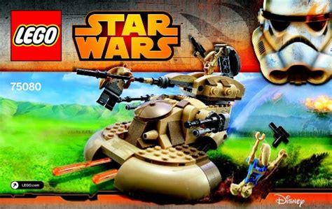 Lego 75080 Aat Wars Episode I Battle Droid Pilot Naboo lego wars episode 1 childrens toys