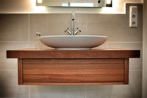 waschtisch bad holz bad unterschrank holz h 228 ngend gispatcher