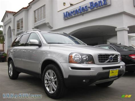 2010 volvo xc90 3 2 awd in electric silver metallic 561778 vannsuv com vans and suvs for