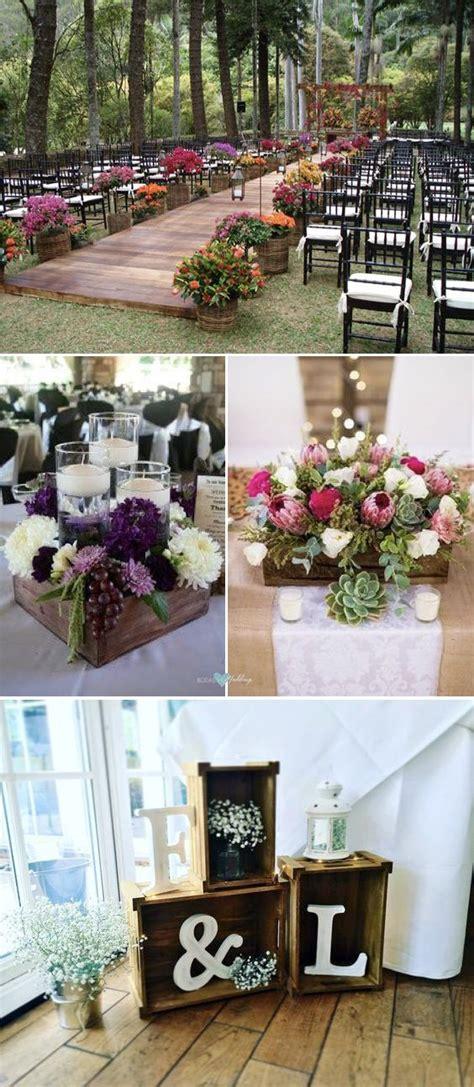 decoracion con palets de madera decoraci 243 n con palets y cajones de madera para bodas con