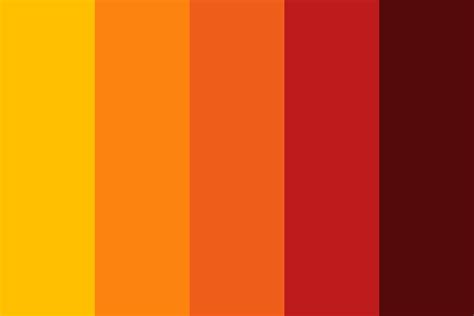 colors that match with orange match light color palette