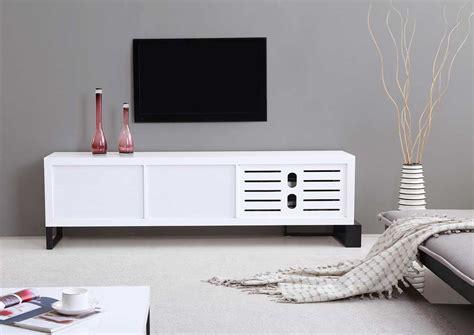 modern white extra long modern white tv stand bm 36 tv stands