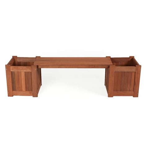planter box bench greenfingers planter box garden bench on sale fast