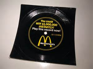 contest record mcdonalds 1000000 menu song contest record from 1989 duck duck gray duck
