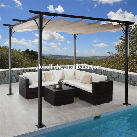 gazebo pavillon grooved wpc pergola balcony pergola eco friend gazebo buy