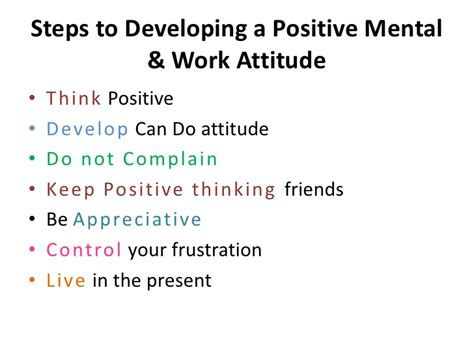8 Tips On Maintaining A Attitude At Work by Positive Attitude Proactive Thinking