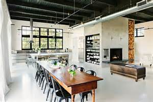industrial home interior 30 ways to create a trendy industrial dining room