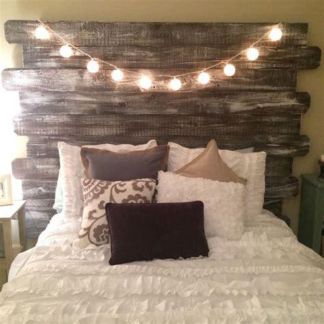 headboard light fixtures 25 best ideas about barn wood headboard on