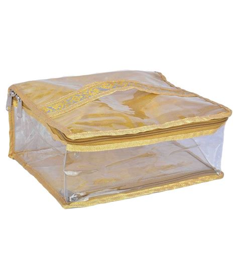 Golden Bag buy malhotra bags golden makeup pouch bag at best prices