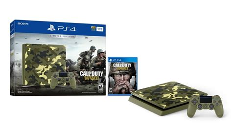 console bundle call of duty ww2 ps4 console bundle announced ign