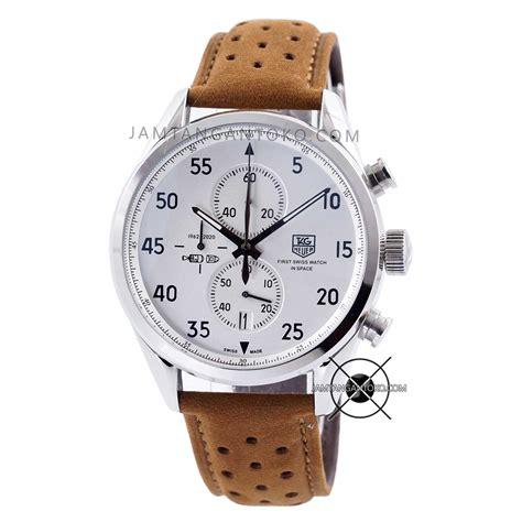 Harga Jam Tangan Merk Tag Heuer harga sarap jam tangan tag heuer spacex cal 1887 silver brown